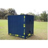 aluguel de container para obra Santa Isabel