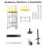 andaimes e acessórios preço Itaquaquecetuba