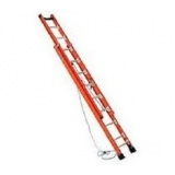 escada de fibra de vidro extensível em Poá