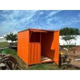 onde encontrar locação de container para obra Santa Isabel