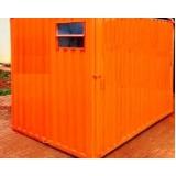 quanto custa locação de container para obra em São Bernardo do Campo